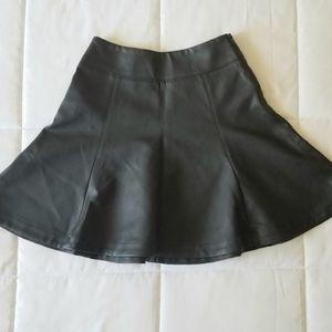 Express Faux Leather Mini Skirt Sz 00